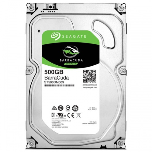 "Жесткий диск 3.5"" Seagate Barracuda ST500DM009 500Gb"