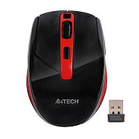 Мышь A4Tech G11-590FX Black-Red Wireless