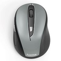 Мышь Hama MW-400 Wireless Grey